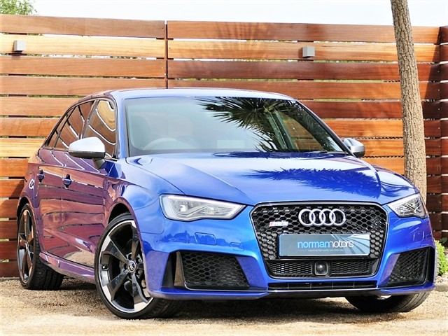 used Audi RS3 SPORTBACK QUATTRO NAV