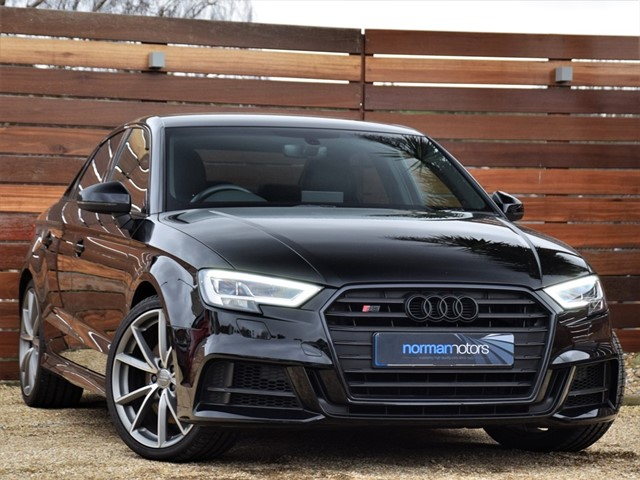 used Audi S3 TFSI QUATTRO BLACK EDITION