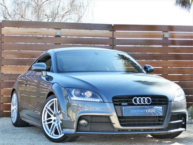used Audi TT TFSI QUATTRO BLACK EDITION