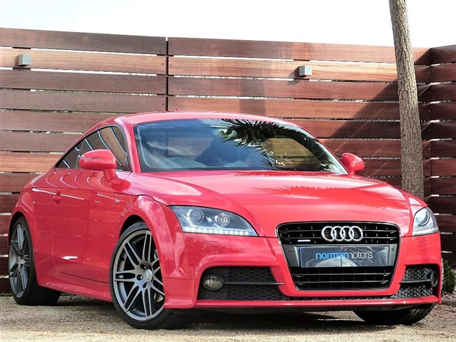 used Audi TT TDI QUATTRO BLACK EDITION