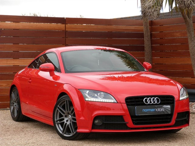 used Audi TT TFSI S LINE BLACK EDITION