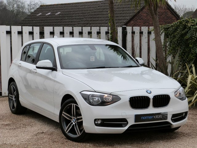 used BMW 116d SPORT
