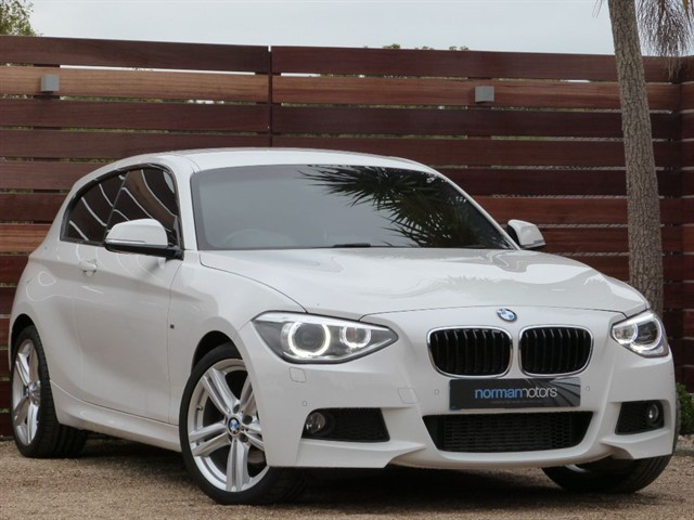 used BMW 120d M SPORT