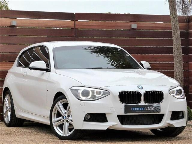used BMW 120d M SPORT