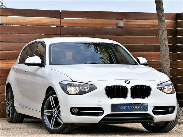 used BMW 116d SPORT