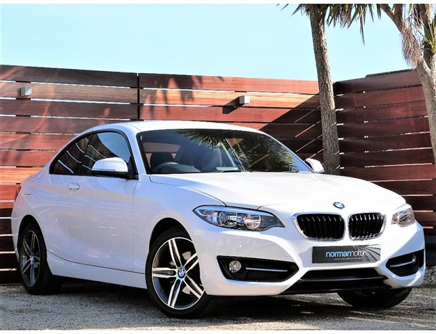 used BMW 218d SPORT