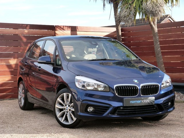 used BMW 218d SPORT ACTIVE TOURER