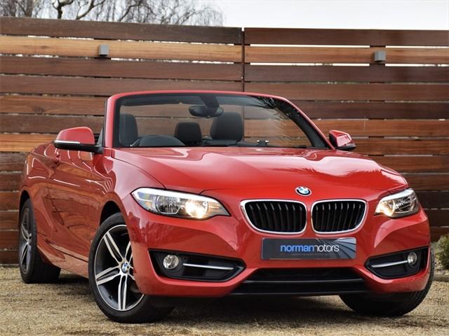 used BMW 218i SPORT
