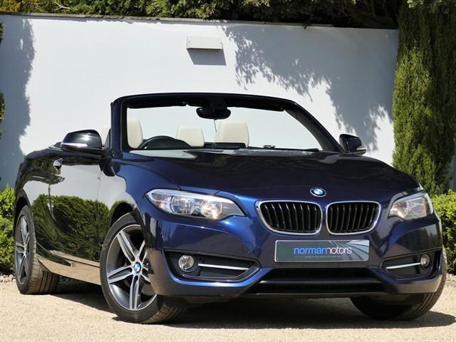 used BMW 220i SPORT