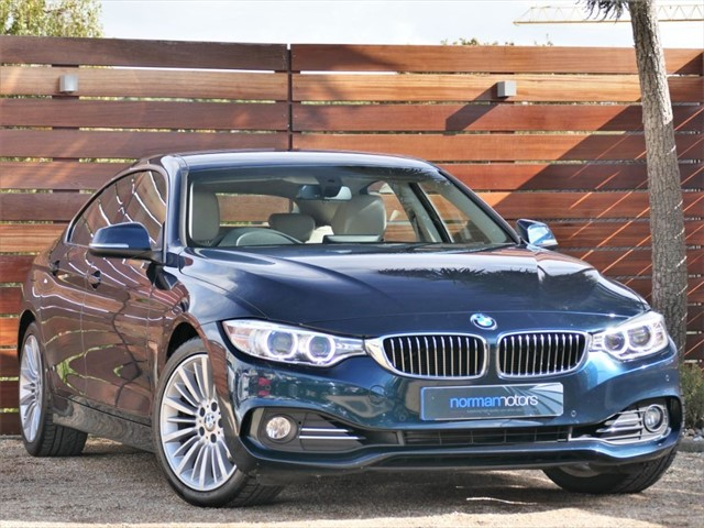 used BMW 420i LUXURY GRAN COUPE