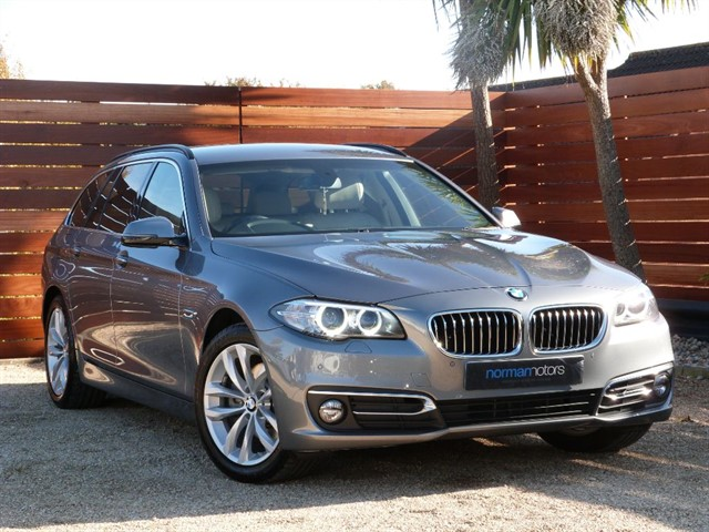used BMW 520d LUXURY TOURING