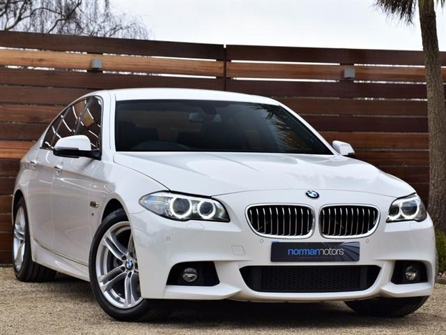 used BMW 520d M SPORT