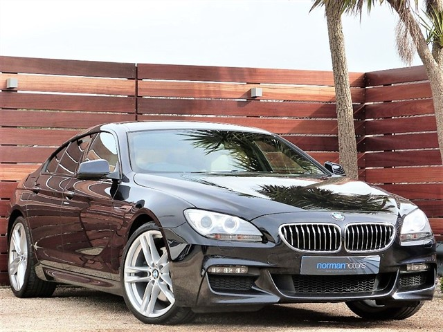 used BMW 640d M SPORT GRAN COUPE
