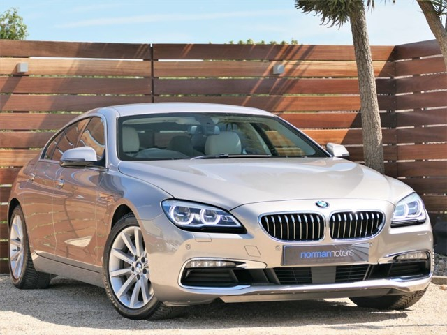 used BMW 640d SE GRAN COUPE