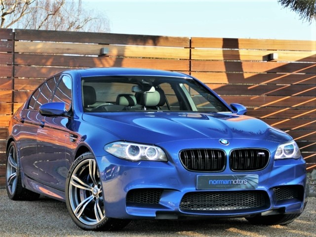 used BMW M5 4.4