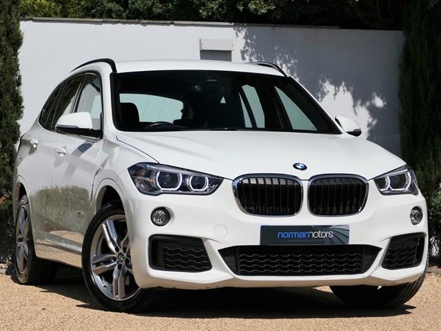 used BMW X1 XDRIVE20D M SPORT