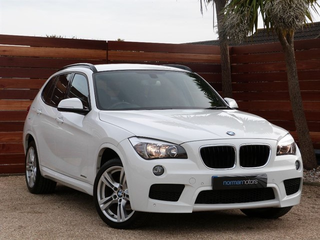 used BMW X1 XDRIVE18D M SPORT