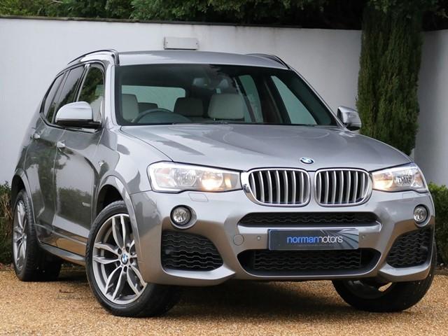 used BMW X3 XDRIVE35D M SPORT