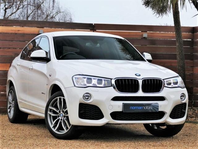 used BMW X4  XDRIVE20D M SPORT