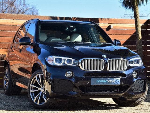used BMW X5 40D M SPORT XDRIVE