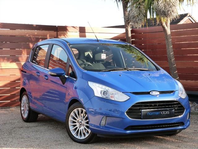 used Ford B-Max TITANIUM