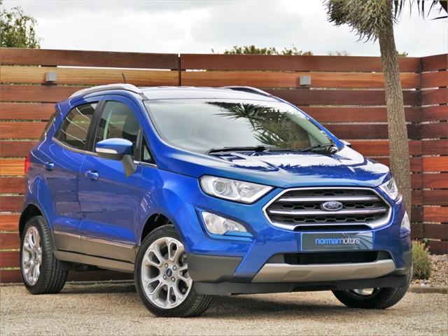 used Ford EcoSport TITANIUM TDCI