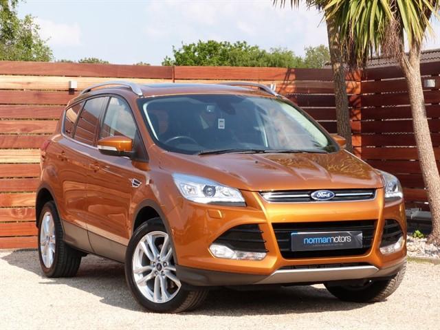 used Ford Kuga TITANIUM X SPORT TDCI