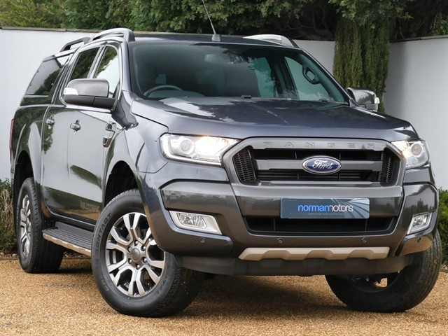 used Ford Ranger 3.2 TDCi Wildtrak Double Cab Pickup  4WD