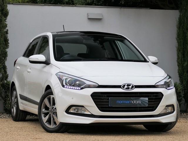 used Hyundai i20 1.0 T-GDi Premium SE Nav