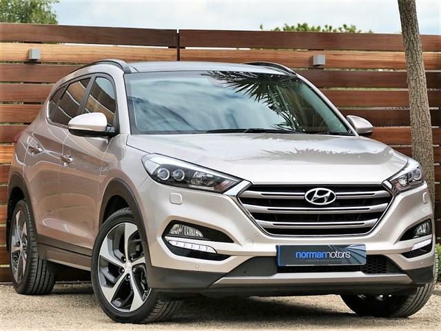 used Hyundai Tucson CRDI PREMIUM SE