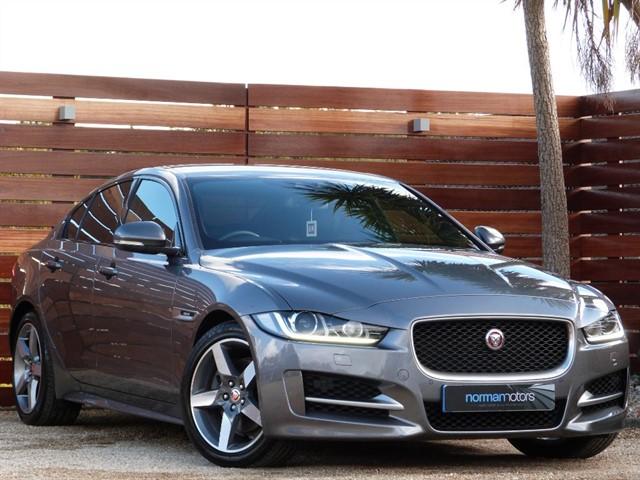 used Jaguar XE R-SPORT