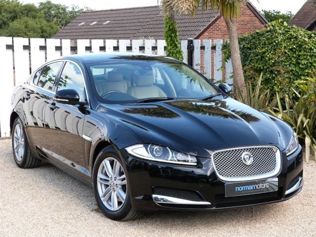 used Jaguar XF D LUXURY