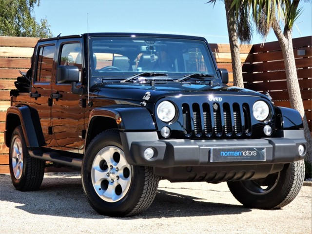 used Jeep Wrangler CRD OVERLAND UNLIMITED