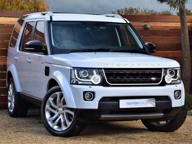 used Land Rover Discovery SDV6 LANDMARK