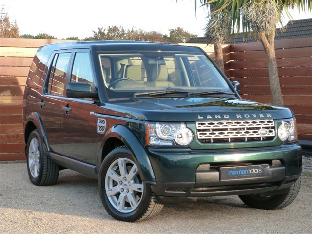 used Land Rover Discovery 4 SDV6 GS
