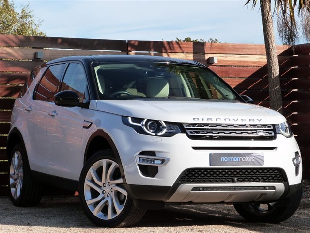 used Land Rover Discovery Sport Discovery Sport Luxury HSE
