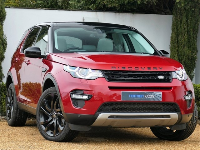 used Land Rover Discovery Sport SD4 HSE