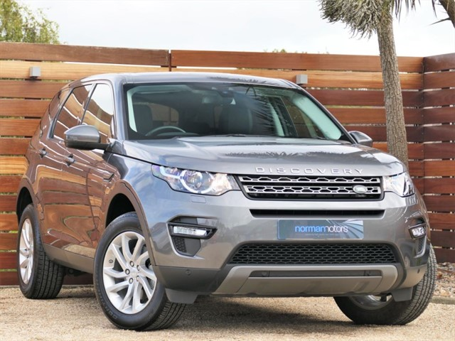 used Land Rover Discovery Sport SI4 SE TECH