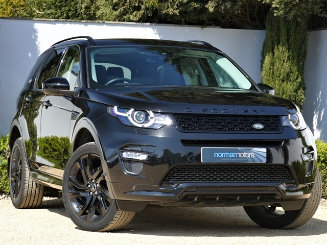 used Land Rover Discovery Sport TD4 HSE DYNAMIC LUX