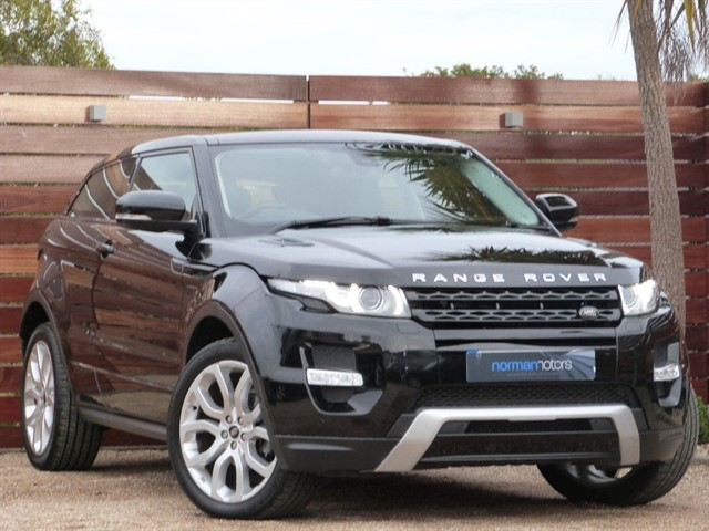 used Land Rover Range Rover Evoque SI4 DYNAMIC