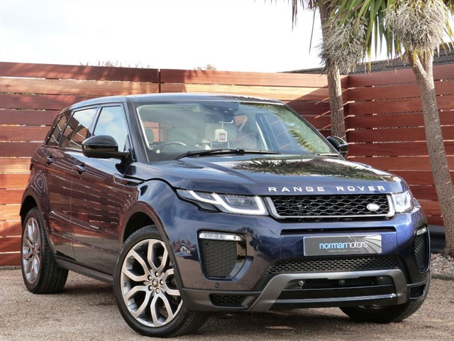 used Land Rover Range Rover Evoque TD4 HSE DYNAMIC LUX