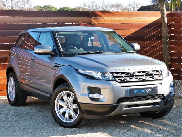 used Land Rover Range Rover Evoque ED4 PURE