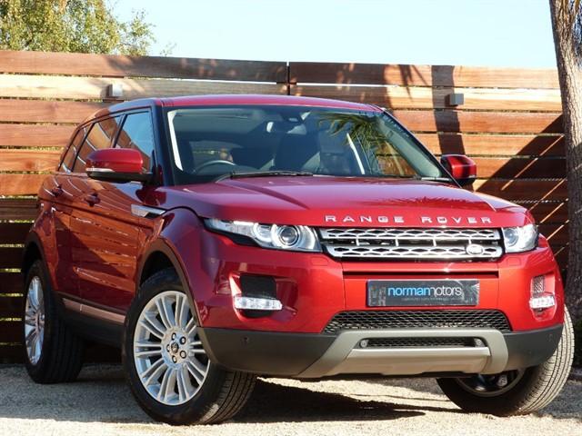 used Land Rover Range Rover Evoque SD4 PRESTIGE
