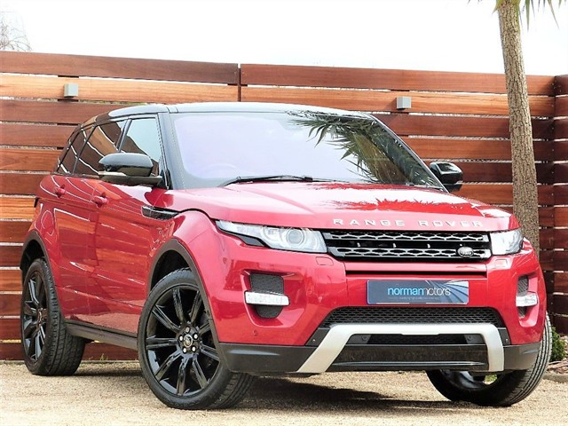 used Land Rover Range Rover Evoque SI4 DYNAMIC LUX