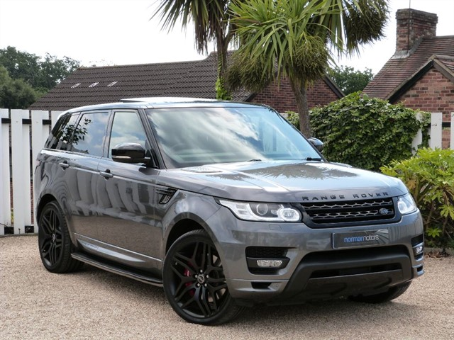 used Land Rover Range Rover Sport AUTOBIOGRAPHY DYNAMIC