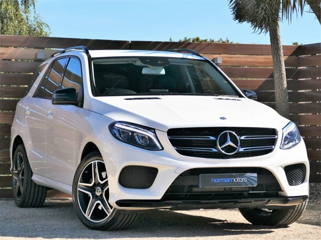 used Mercedes GLE250 D 4MATIC AMG LINE