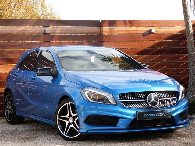 used Mercedes A200 CDI AMG NIGHT EDITION