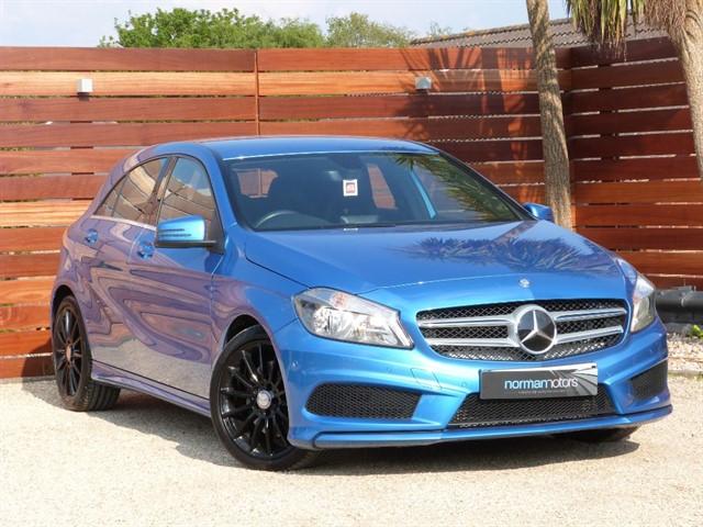 used Mercedes A220 CDI BLUEEFFICIENCY AMG SPORT
