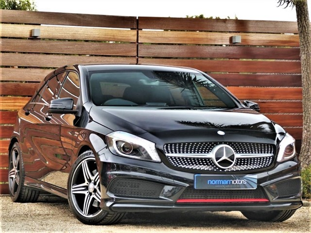 used Mercedes A250 4MATIC ENGINEERED BY AMG