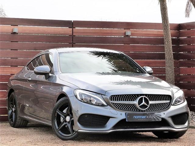 used Mercedes C220 C-CLASS C 220 D AMG LINE PREMIUM PLUS